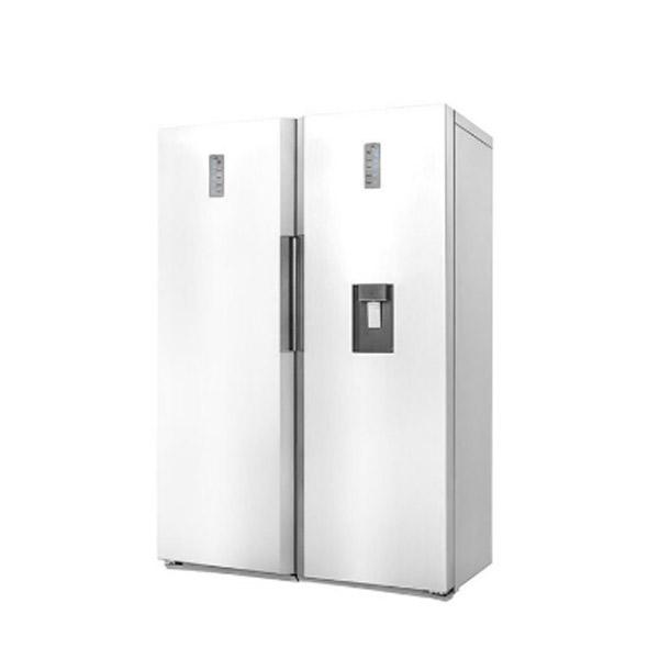 فروش نقدی و اقساطی یخچال و فریزر دوقلو دوو مدل D4LR-0020MW/D4LF-0020MW