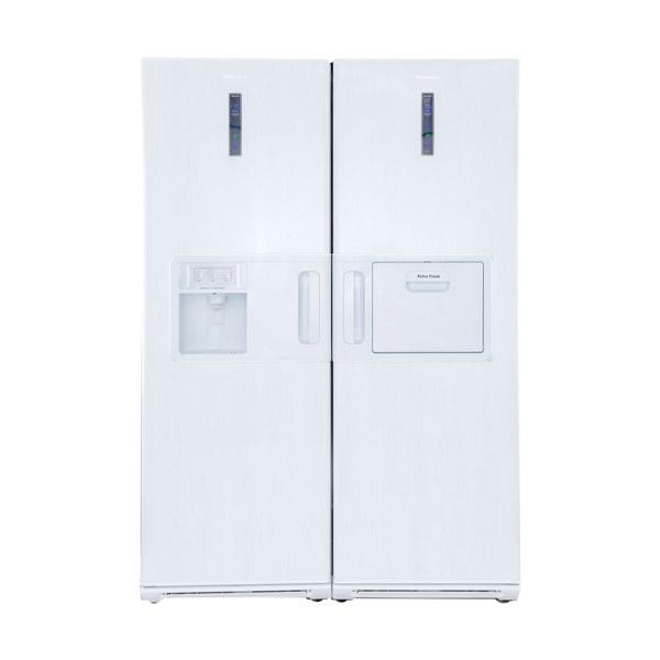 فروش نقدی و اقساطی یخچال و فریزر دوقلو هیمالیا مدل +NF280d+-NR440d