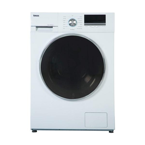 فروش نقدی و اقساطی ماشین لباسشویی سینجر مدل WMS 80 X1814 ظرفیت 8 کیلوگرم