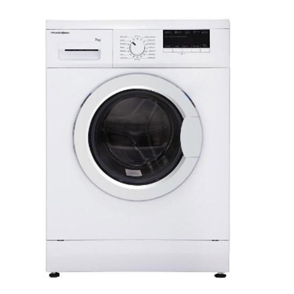 فروش نقدی و اقساطی ماشین لباسشویی پاکشوما مدل MFU-73403WT ظرفیت7 کیلوگرم