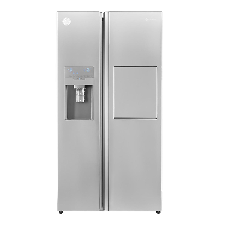 فروش نقدی و اقساطی یخچال و فریز ساید بای ساید اسنوا مدل S8-2352SS
