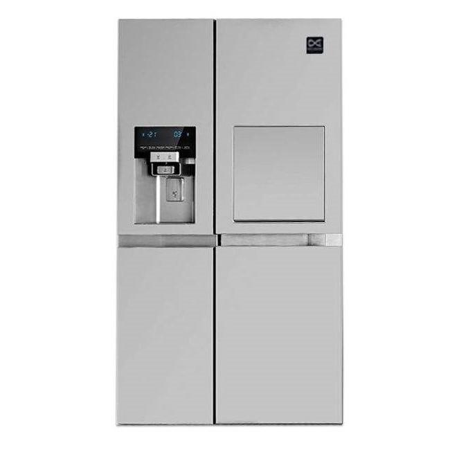 فروش نقدی و اقساطی یخچال فریزر ساید بای ساید دوو مدل D2S-3133SS