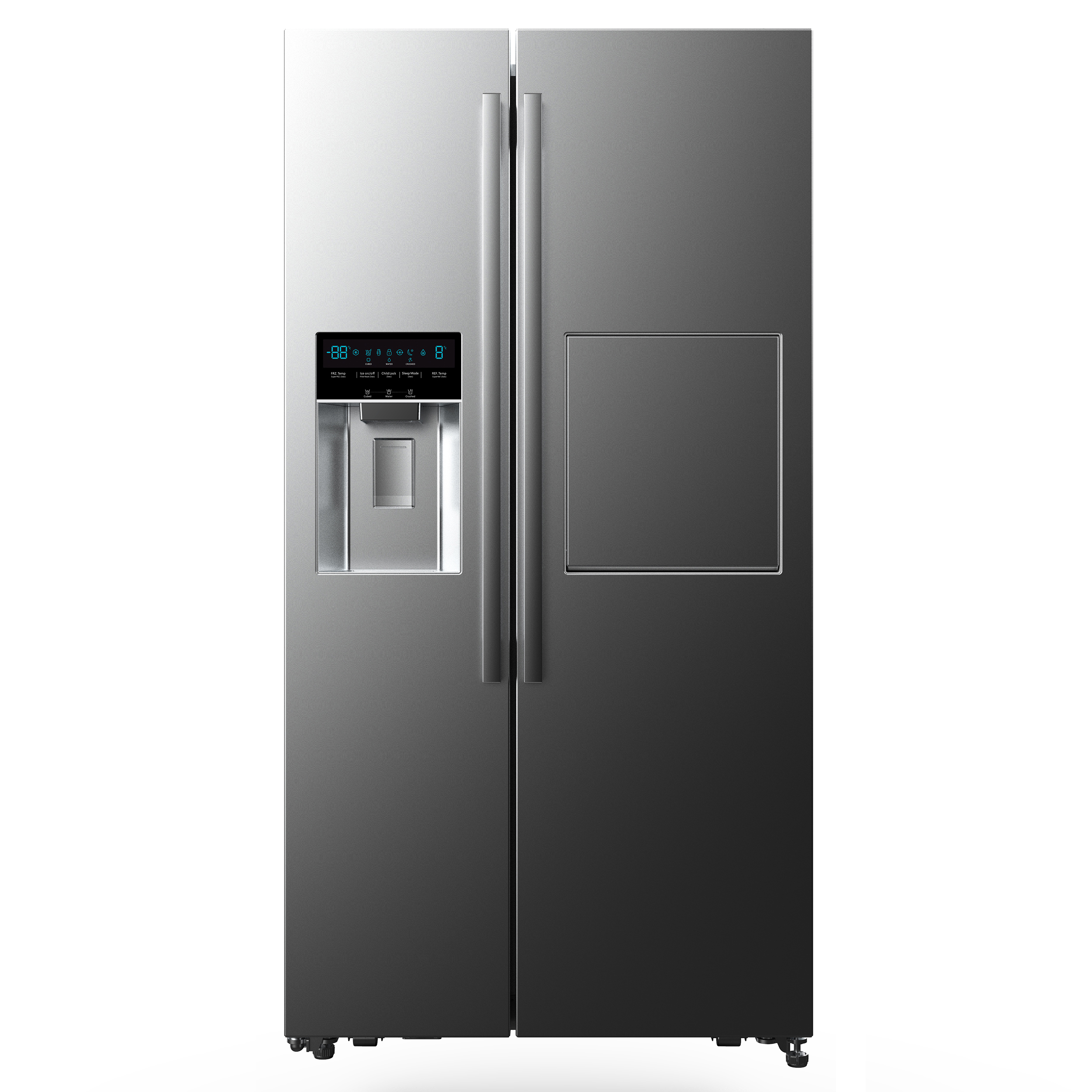 فروش نقدی و اقساطی یخچال و فریز ساید بای ساید دوو مدل D4S-3340SS