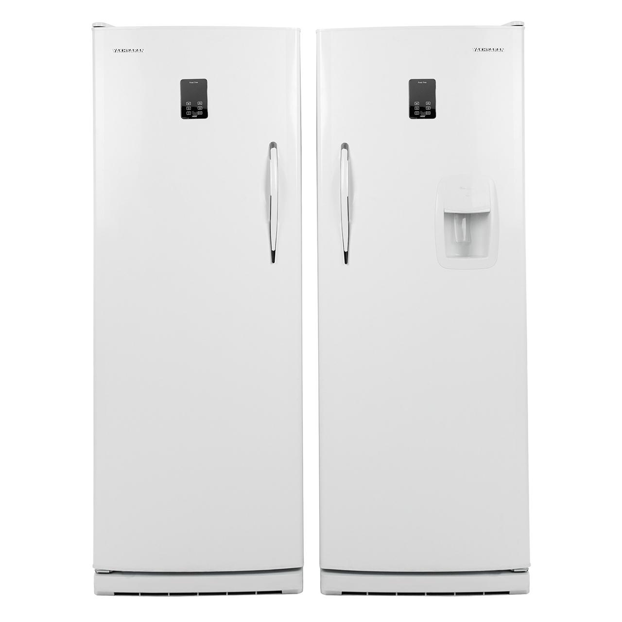 فروش نقدی و اقساطی یخچال و فریزر دوقلو یخساران مدل U8001M-U8005M