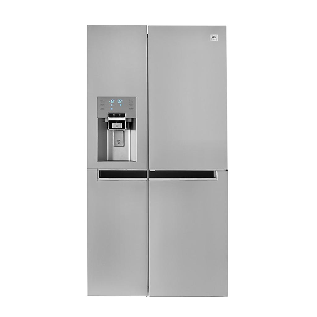 فروش نقدی و اقساطی یخچال و فریزر ساید بای ساید دوو مدل D4S-0034SS