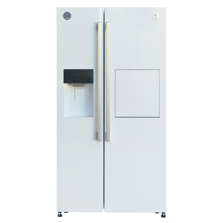 فروش نقدی و اقساطی یخچال و فریزر ساید بای ساید دوو مدل DES-2915W