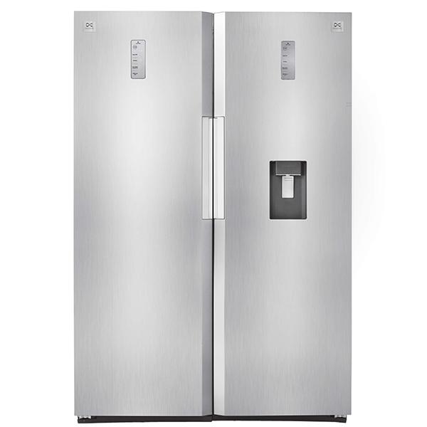 فروش نقدی و اقساطی یخچال و فریزر دوقلو دوو مدل D4LR-0020SS/D4LF-0020SS