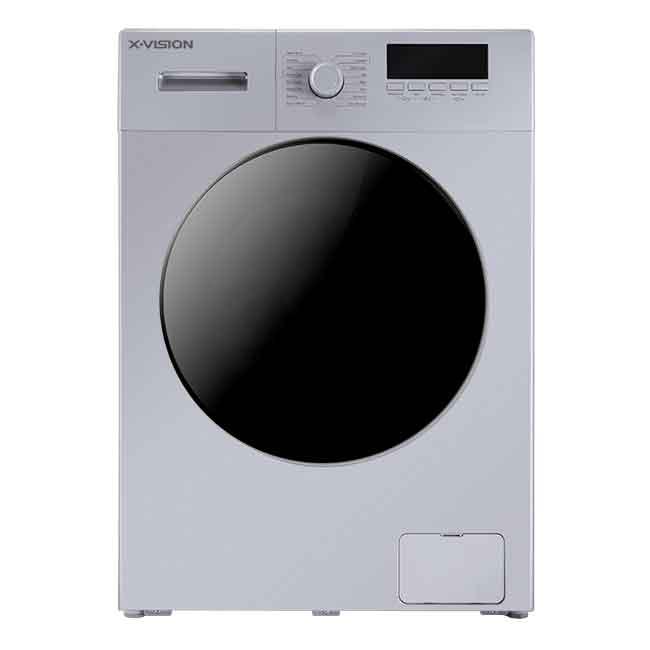 فروش نقدی و اقساطی ماشین لباسشویی ایکس ویژن مدل TE84 AW ظرفیت 8 کیلوگرم