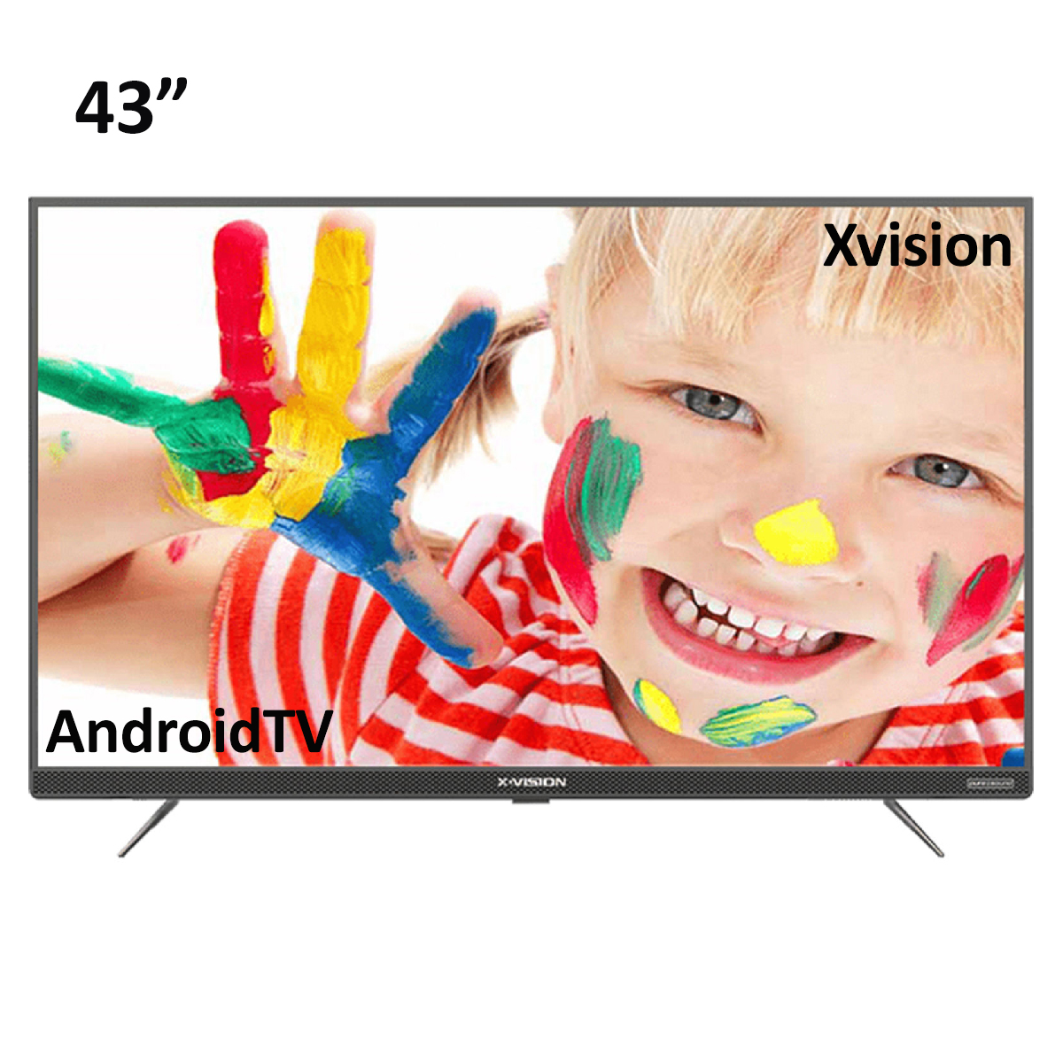 فروش نقدی و اقساطی تلویزیون ال ای دی هوشمند ایکس ویژن مدل 43XT745 سایز 43 اینچ
