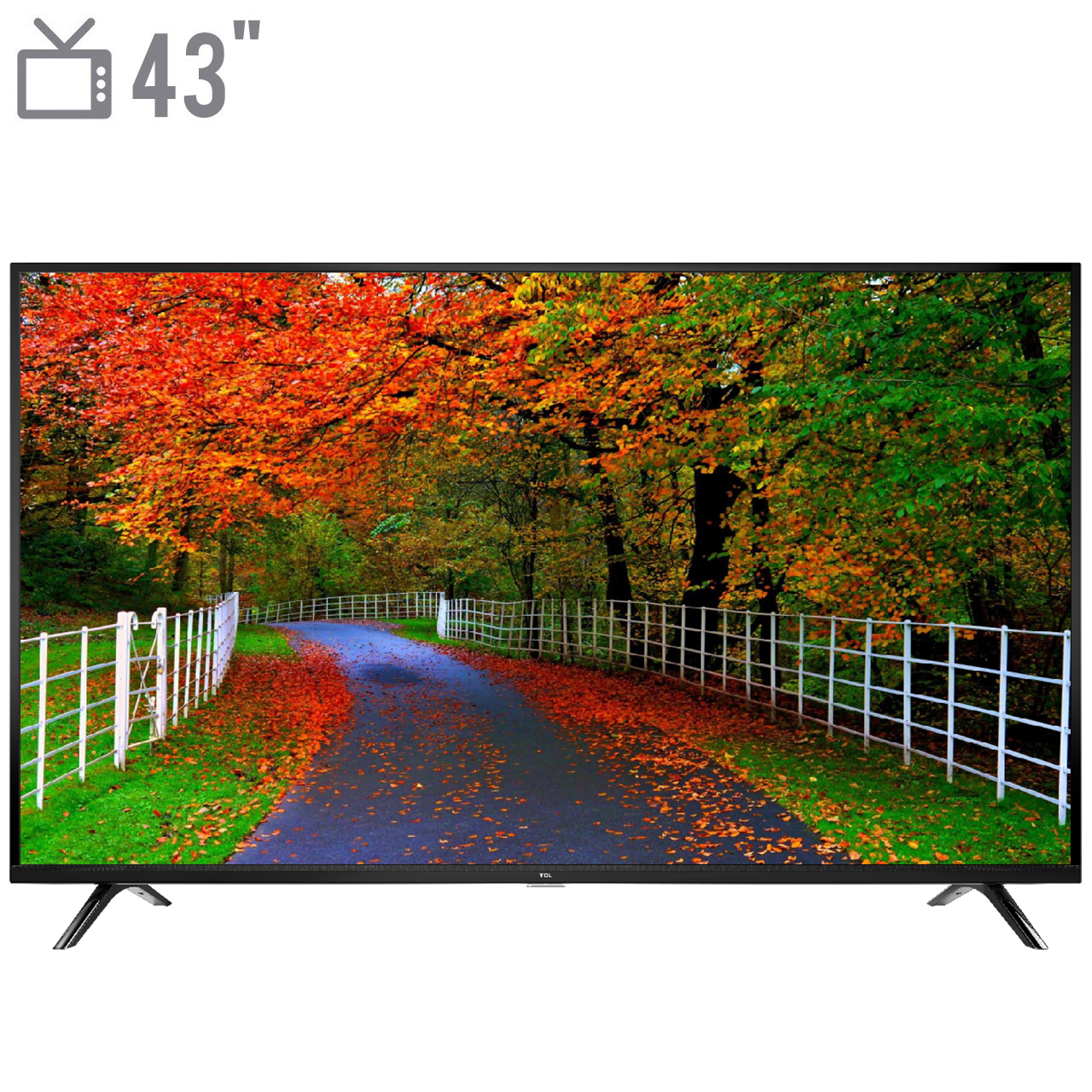 فروش اقساطی تلویزیون ال ای دی TCL مدل 43D3000 Full HD