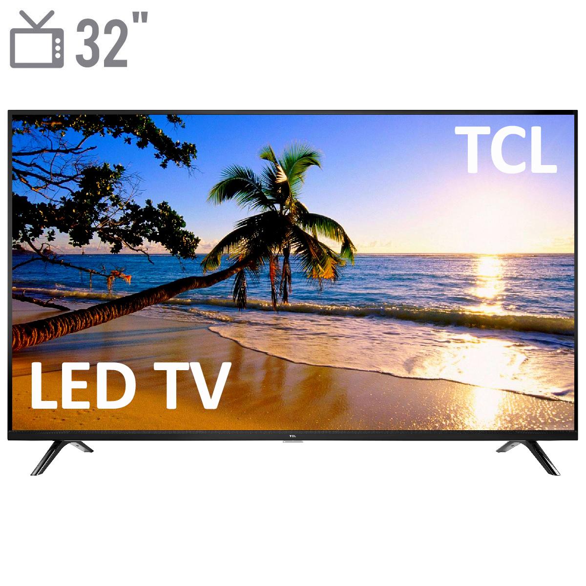 فروش نقدی و اقساطی تلویزیون ال ای دی ۳۲ اینچ TCL مدل ۳۲D3000i
