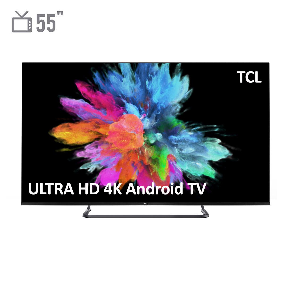 فروش نقدی و اقساطی تلویزیون ال ای دی هوشمند تی سی ال مدل 55P8SA سایز 55 اینچ