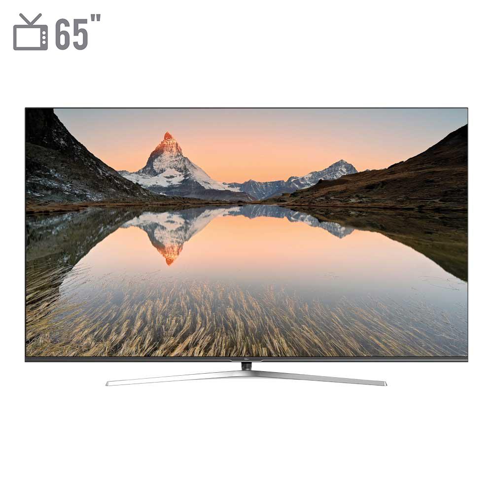 فروش نقدی و اقساطی تلویزیون ال ای دی هوشمند جی پلاس مدل GTV-65LQ721S سایز 65 اینچ