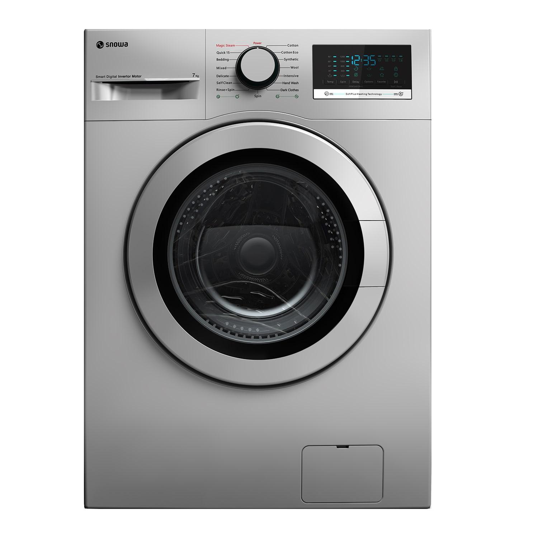 فروش نقدی و اقساطی ماشین لباسشویی اسنوا مدل SWM-72304 ظرفیت 7 کیلوگرم
