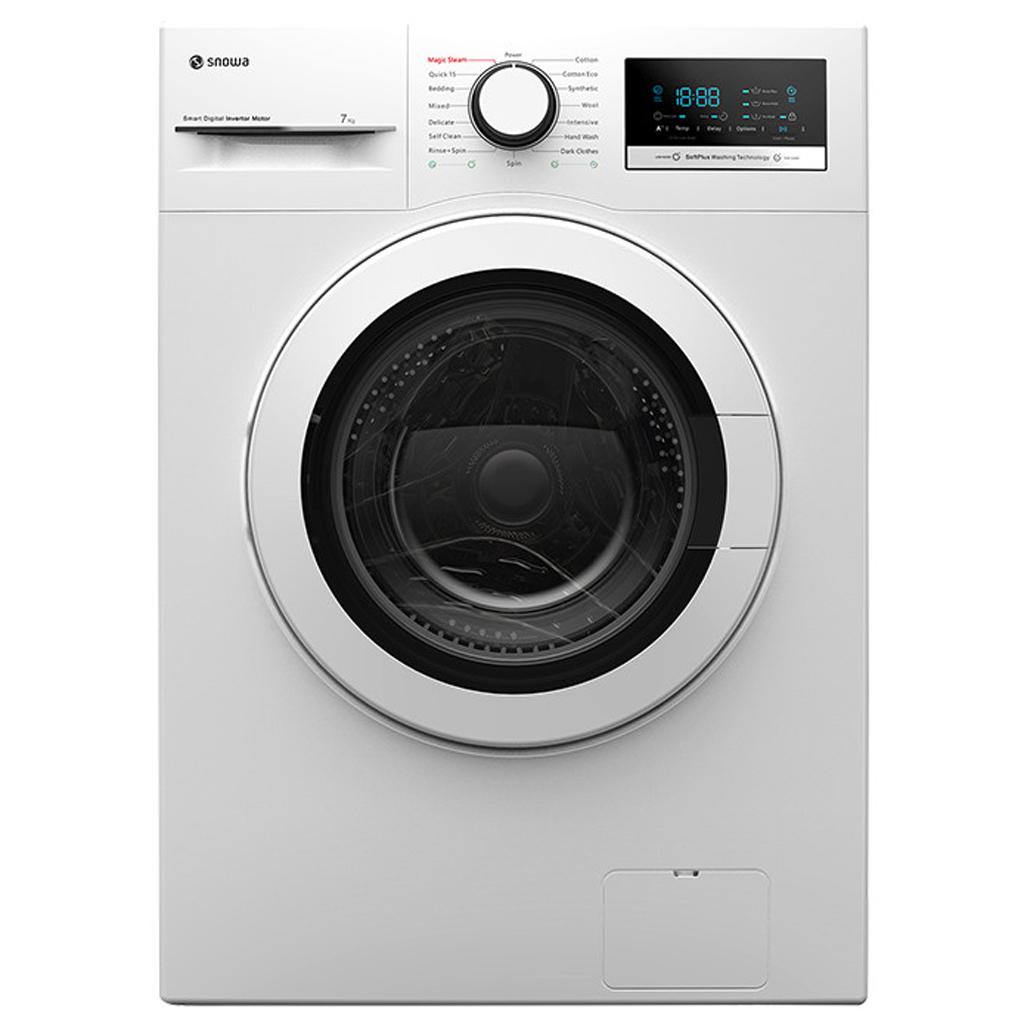 فروش نقدی و اقساطی ماشین لباسشویی اسنوا مدل SWM-72300 ظرفیت 7 کیلوگرم