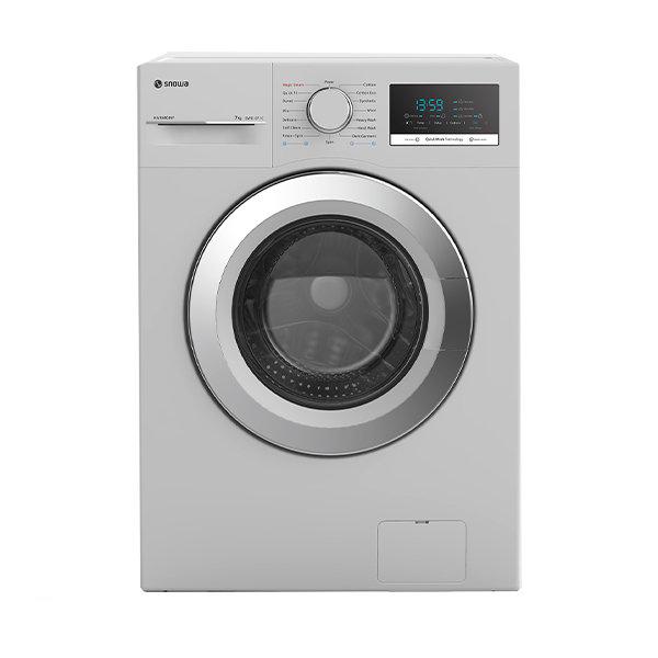 فروش نقدی و اقساطی ماشین لباسشویی اسنوا مدل SWM-71204 ظرفیت 7 کیلوگرم
