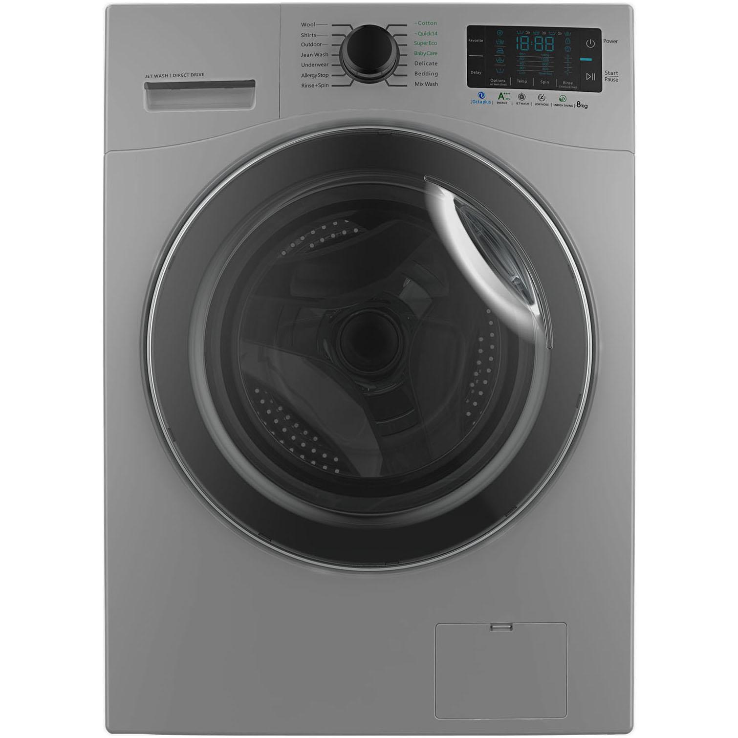 فروش نقدی و اقساطی ماشین لباسشویی اسنوا مدل SWM-84518 ظرفیت 8 کیلوگرم