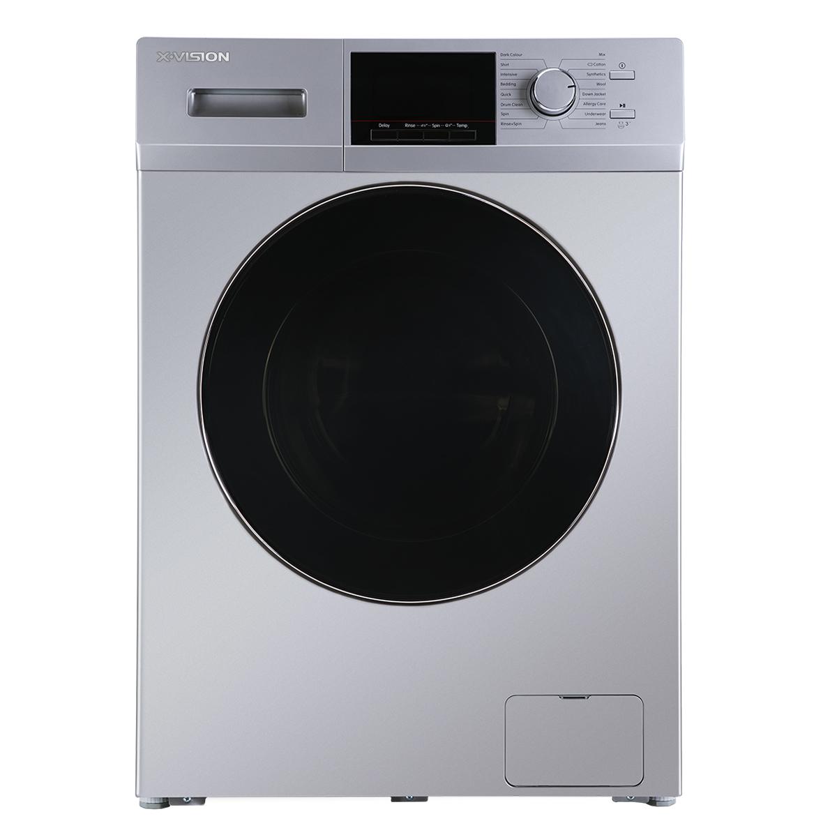 فروش نقدی و اقساطی ماشین لباسشویی ایکس ویژن مدل TM72-ASBL/AWBL ظرفیت ۷ کیلوگرم