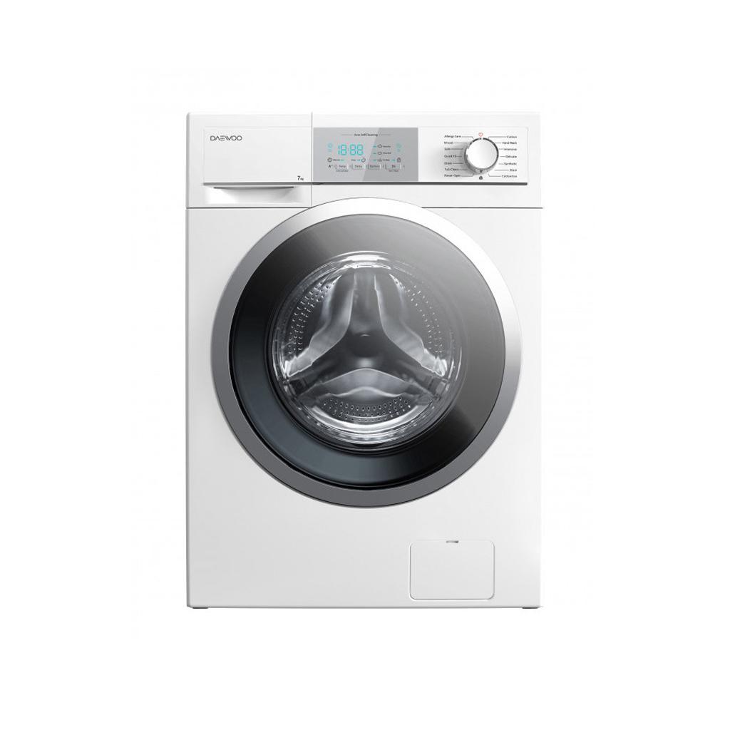 فروش نقدی و اقساطی ماشین لباسشویی دوو مدل DWK-7100 ظرفیت ۷ کیلوگرم