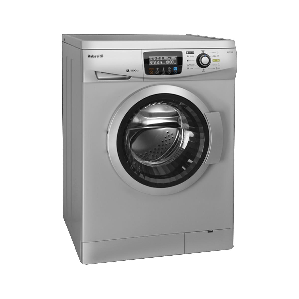 فروش نقدی و اقساطی ماشین لباسشویی آبسال مدل REN7112 ظرفیت 7 کیلوگرم