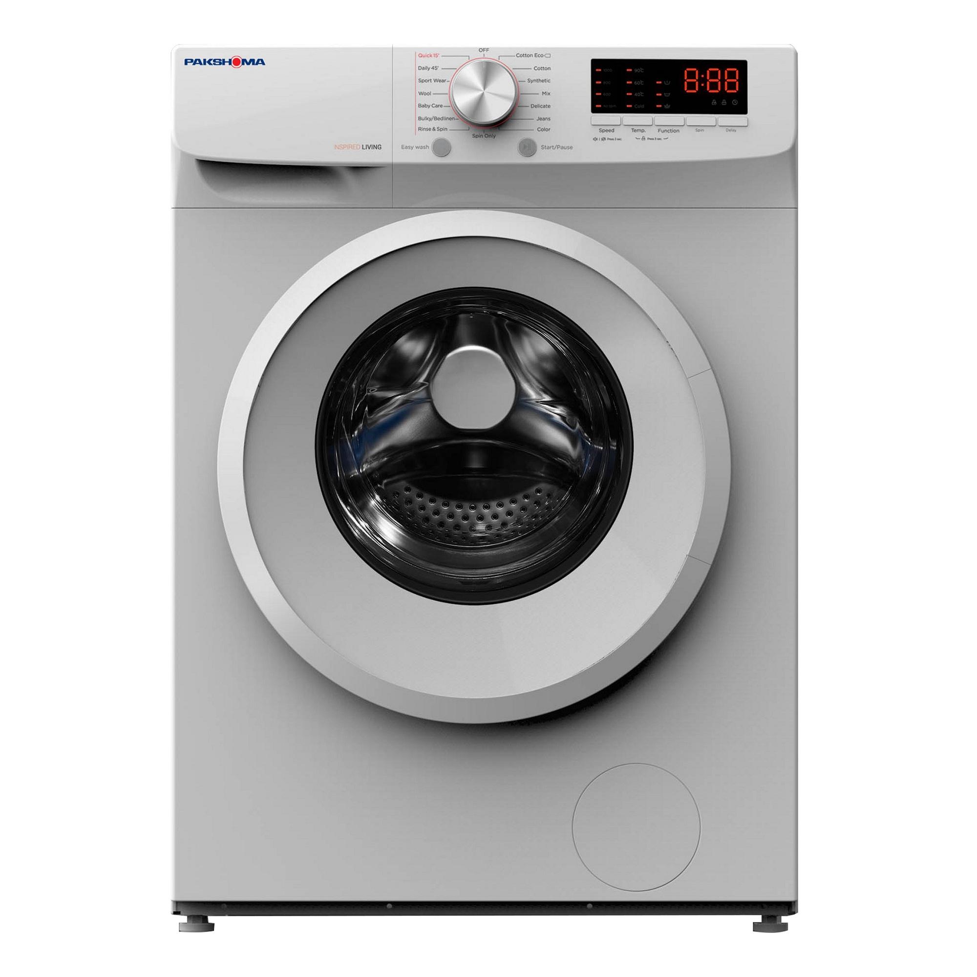 فروش نقدی و اقساطی ماشین لباسشویی پاکشوما مدل TFU-73200 ظرفیت 7 کیلوگرم