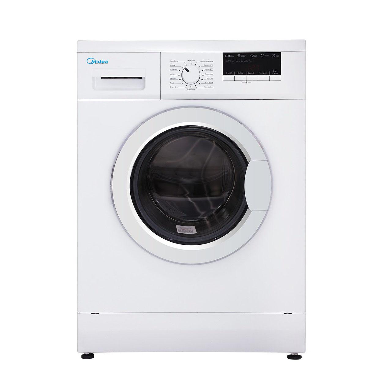 فروش نقدی و اقساطی ماشین لباسشویی مایدیا مدل WU-34703 ظرفیت 7 کیلوگرم