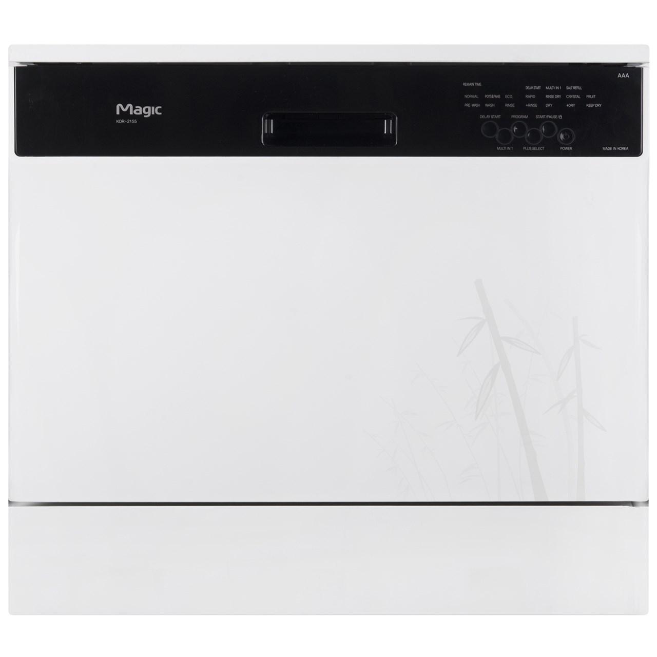 فروش نقدی و اقساطی ماشین ظرفشویی رومیزی مجیک مدل KOR-2155B