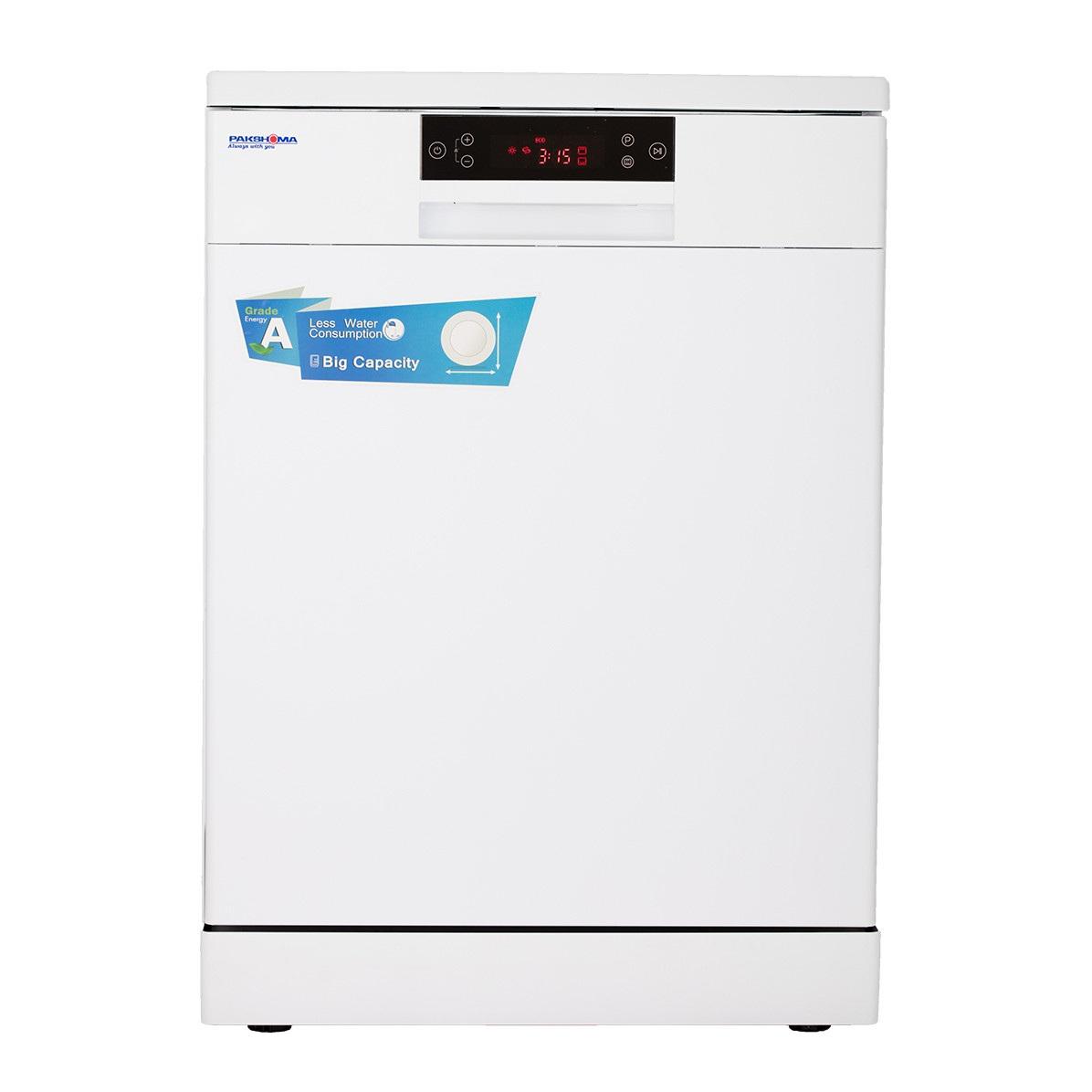 فروش نقدی یا اقساطی ماشین ظرفشویی ایستاده پاکشوما مدل Pakshoma MDF-14302