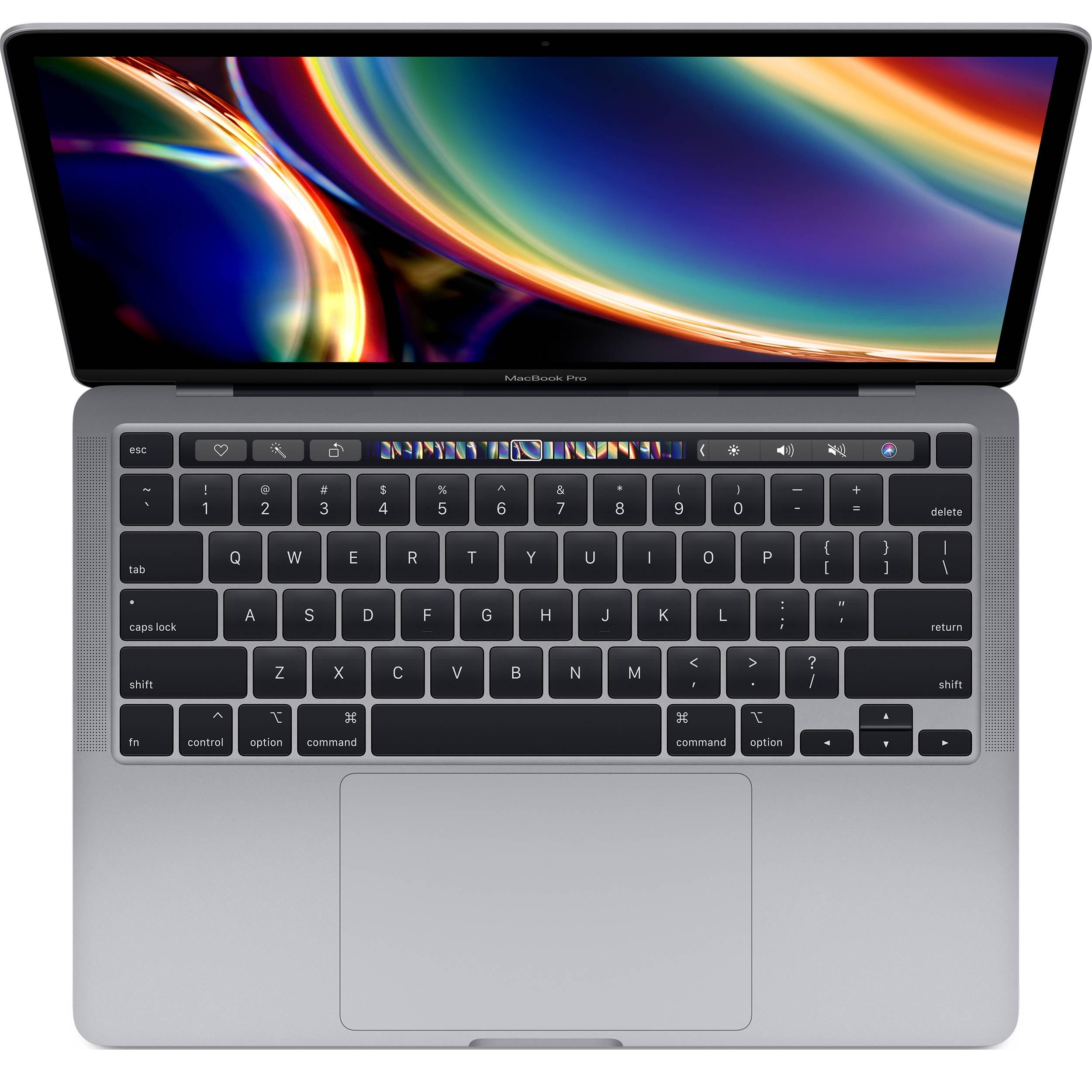 فروش نقدی و اقساطی لپ تاپ 13 اینچی اپل مدل MacBook Pro MXK32 2020 همراه با تاچ بار