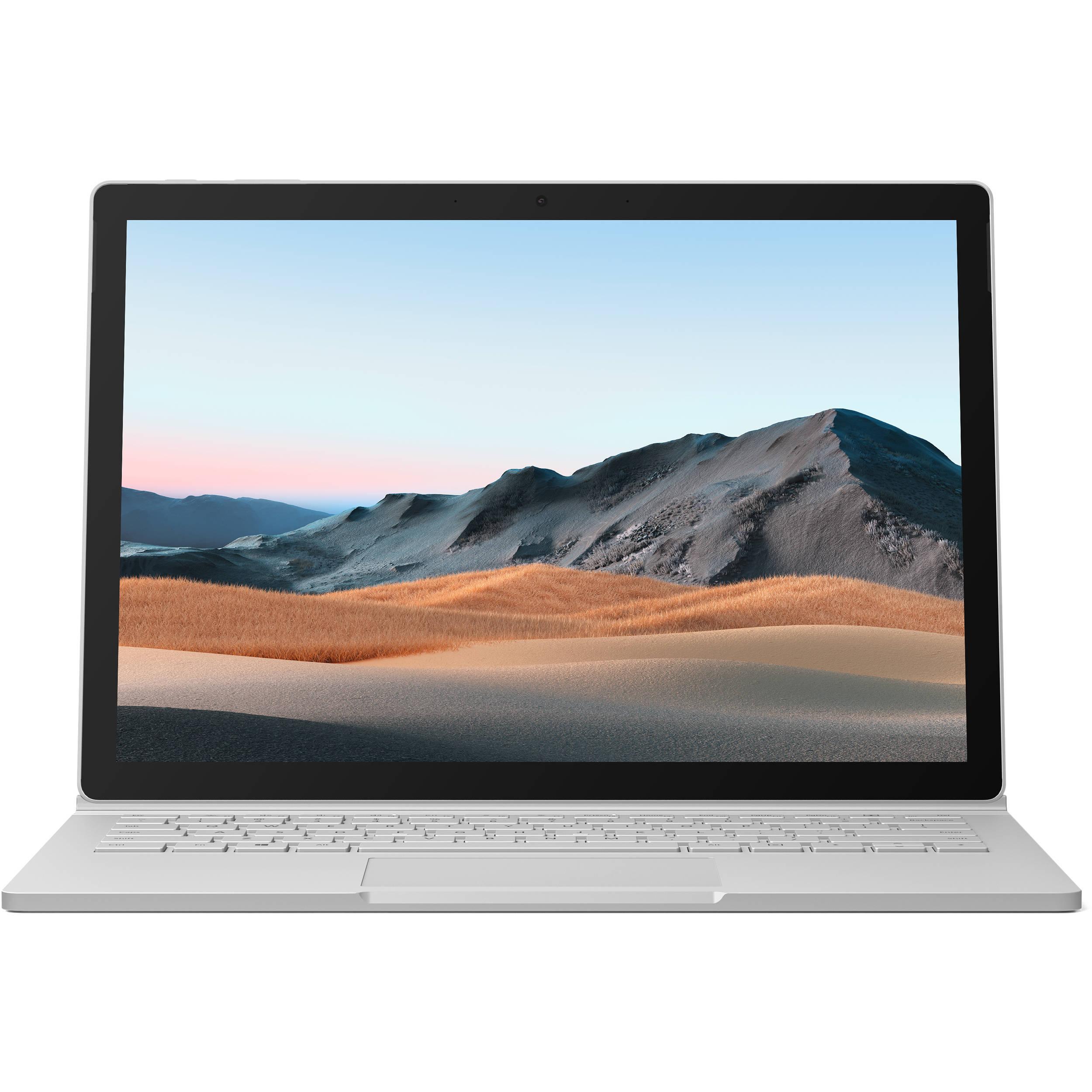 فروش نقدی و اقساطی لپ تاپ 13 اینچی مایکروسافت مدل Surface Book 3- F