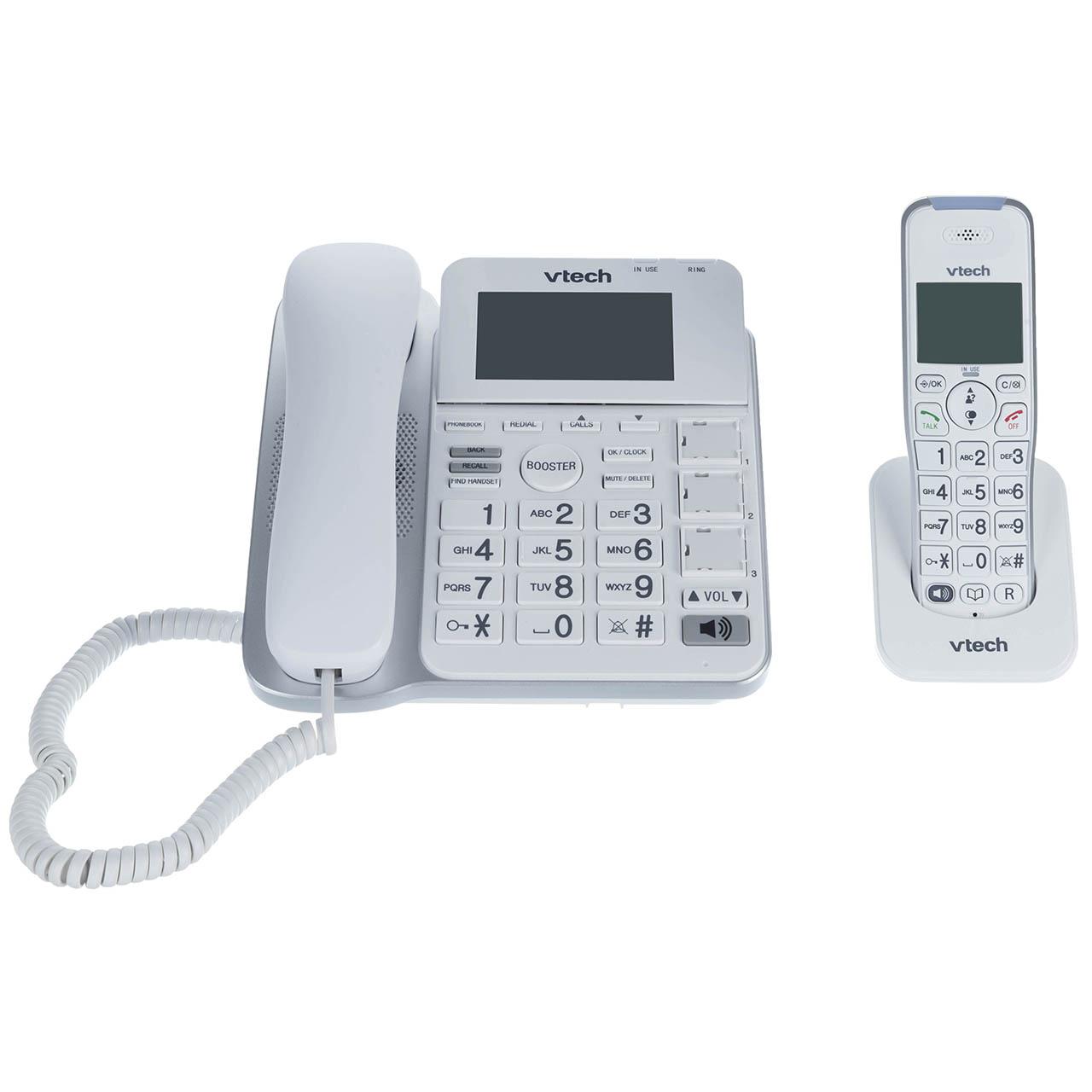 فروش اقساطی تلفن بی سیم وی تک مدل CRL54102