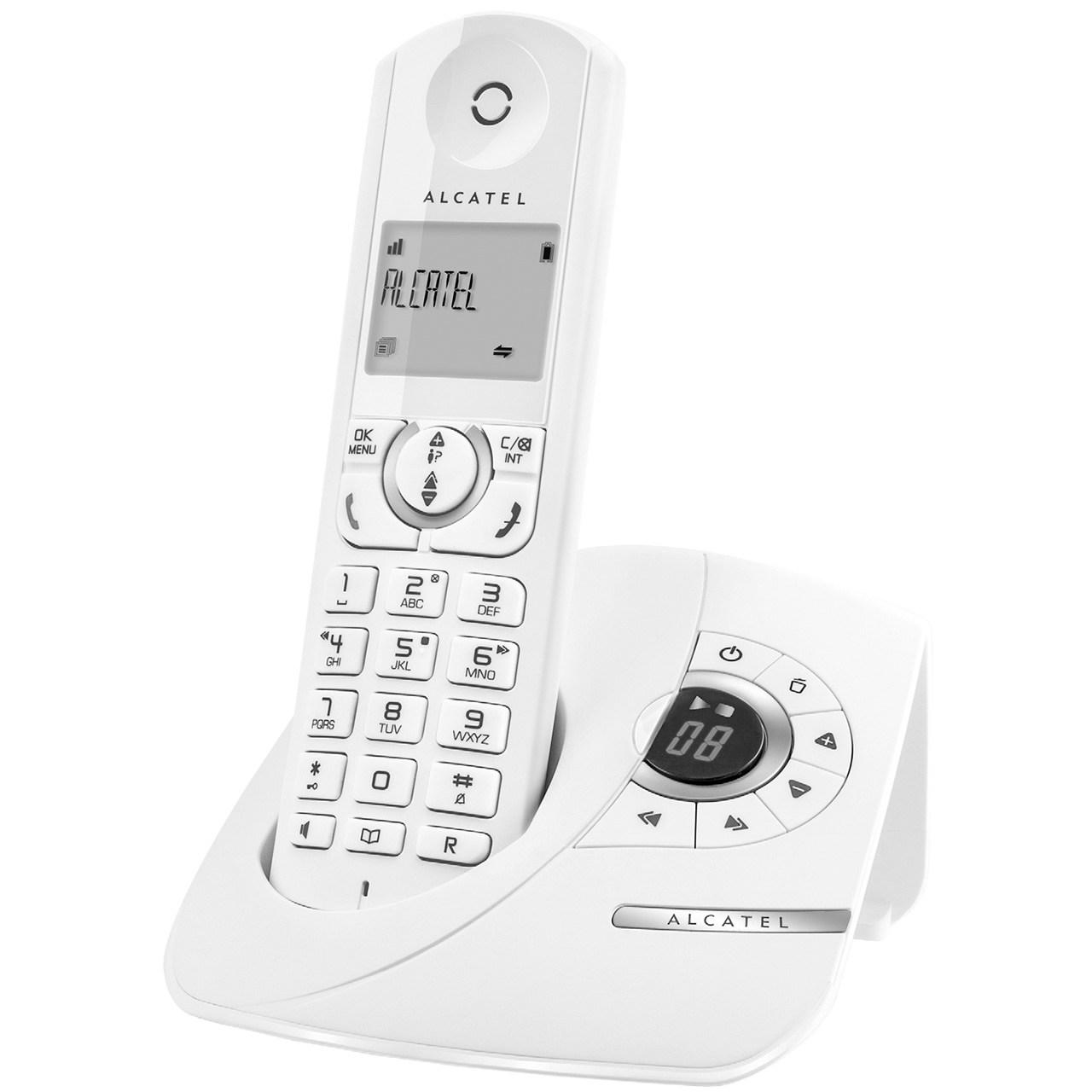 فروش اقساطی تلفن بی سیم الکاتل مدل F370 Voice