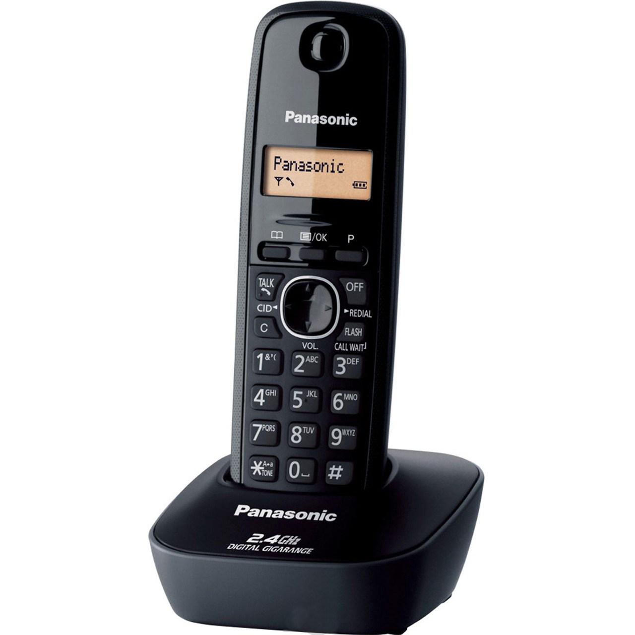 فروش اقساطی تلفن بی سیم پاناسونیک مدل KX-TG3411 BX