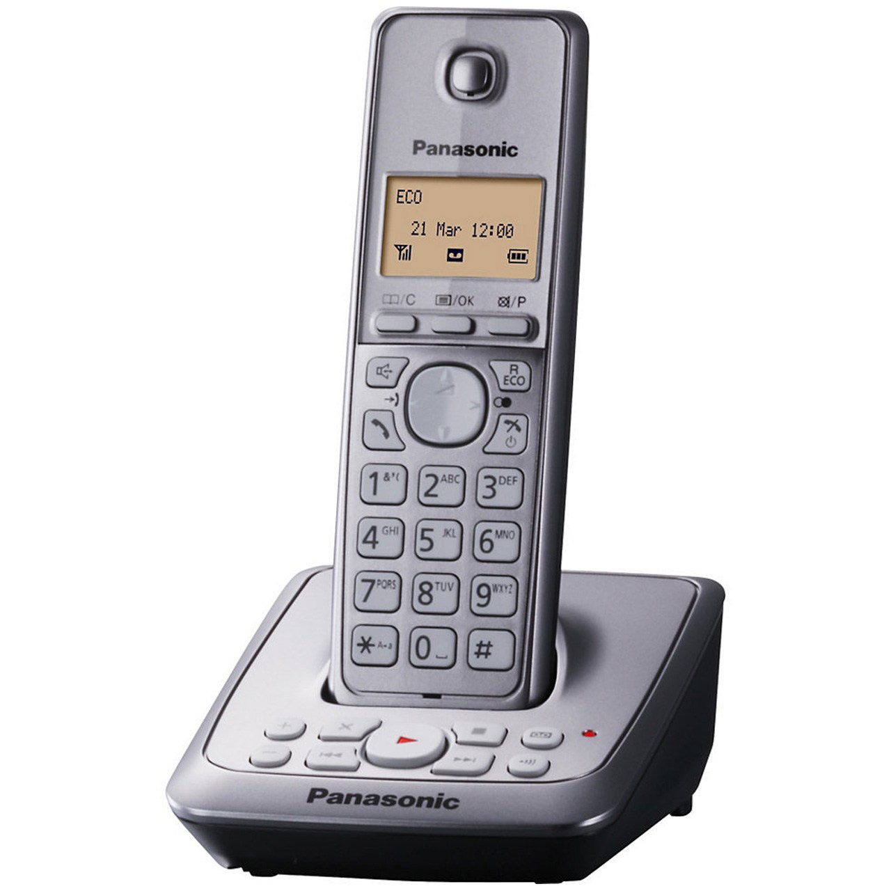 فروش اقساطی تلفن بی سیم پاناسونیک مدل KX-TG2721