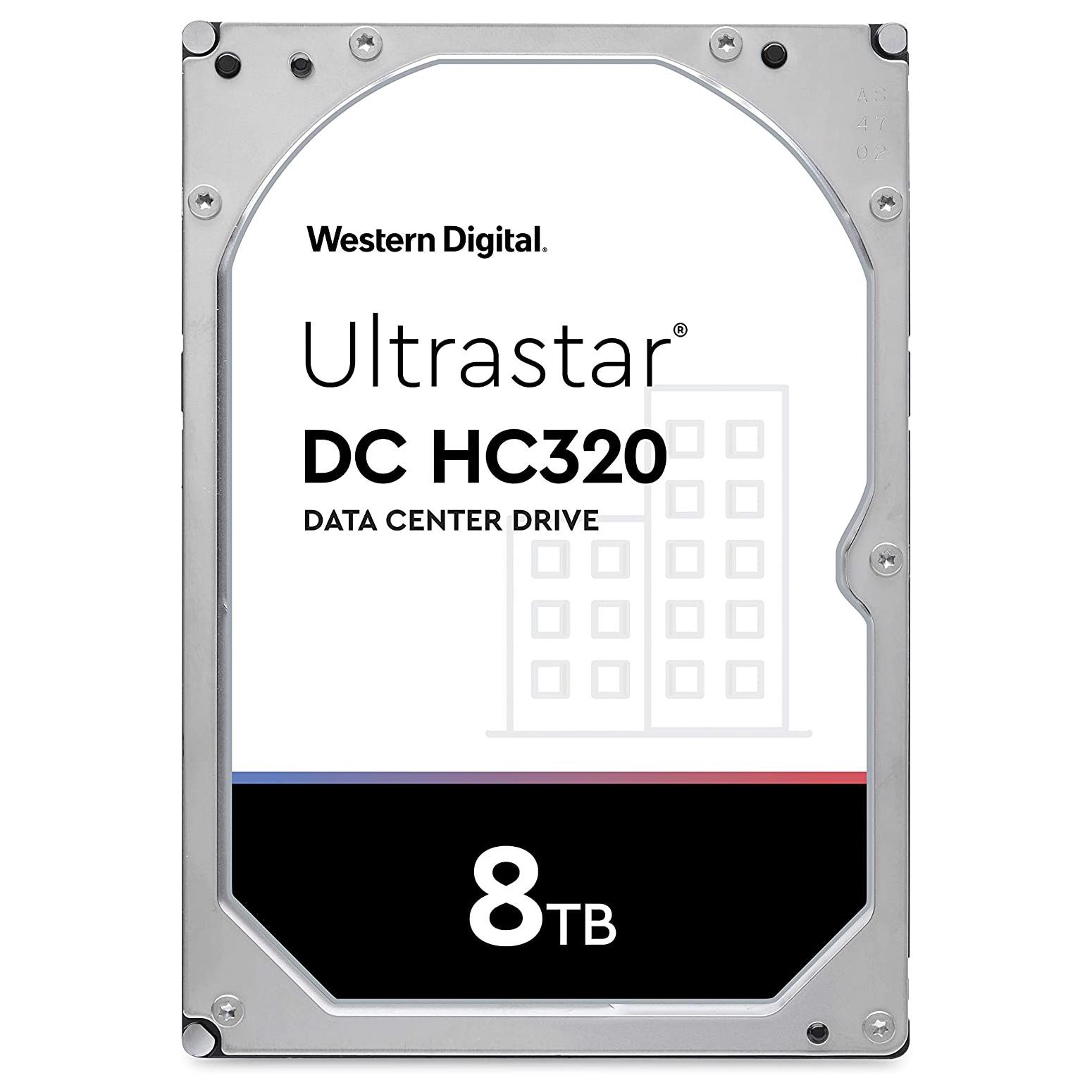 فروش نقدی و اقساطی هارد دیسک اینترنال وسترن دیجیتال مدل Ultrastar HUS728T8TALE6L4 ظرفیت 8 ترابایت