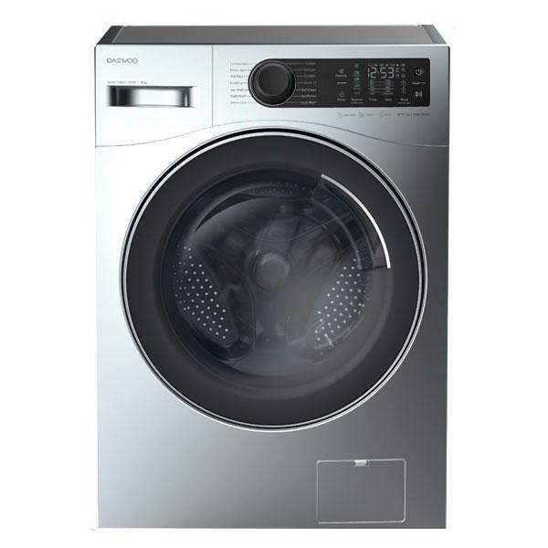 فروش نقدی و اقساطی ماشین لباسشویی دوو مدل DWK-9000S ظرفیت 9 کیلوگرم