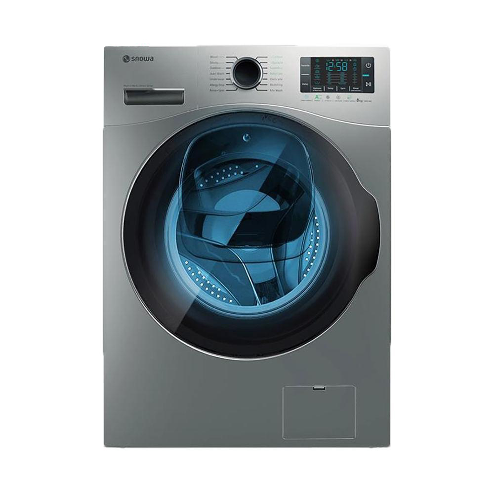 فروش نقدی و اقساطی ماشین لباسشویی اسنوا مدل SWM 84518 ظرفیت 8 کیلوگرم