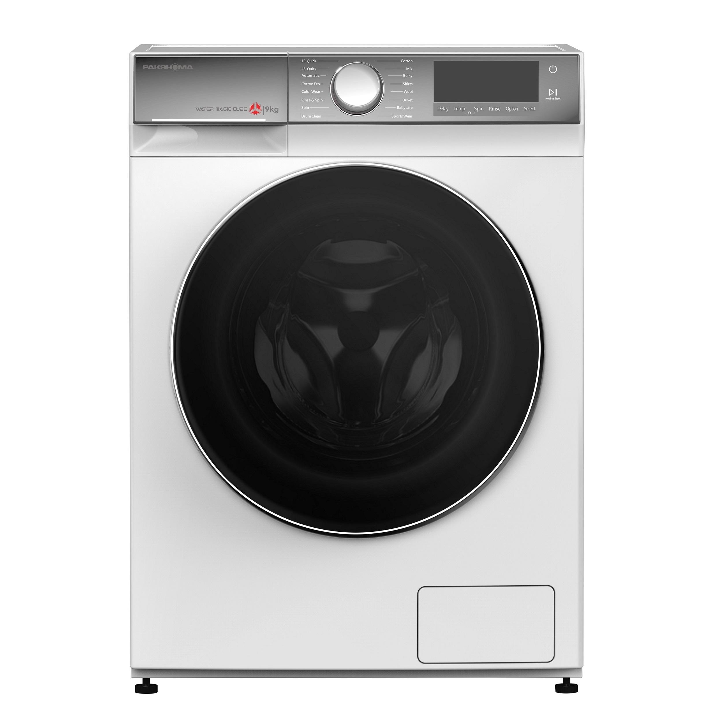 فروش نقدی و اقساطی ماشین لباسشویی پاکشوما مدل TFB-95402