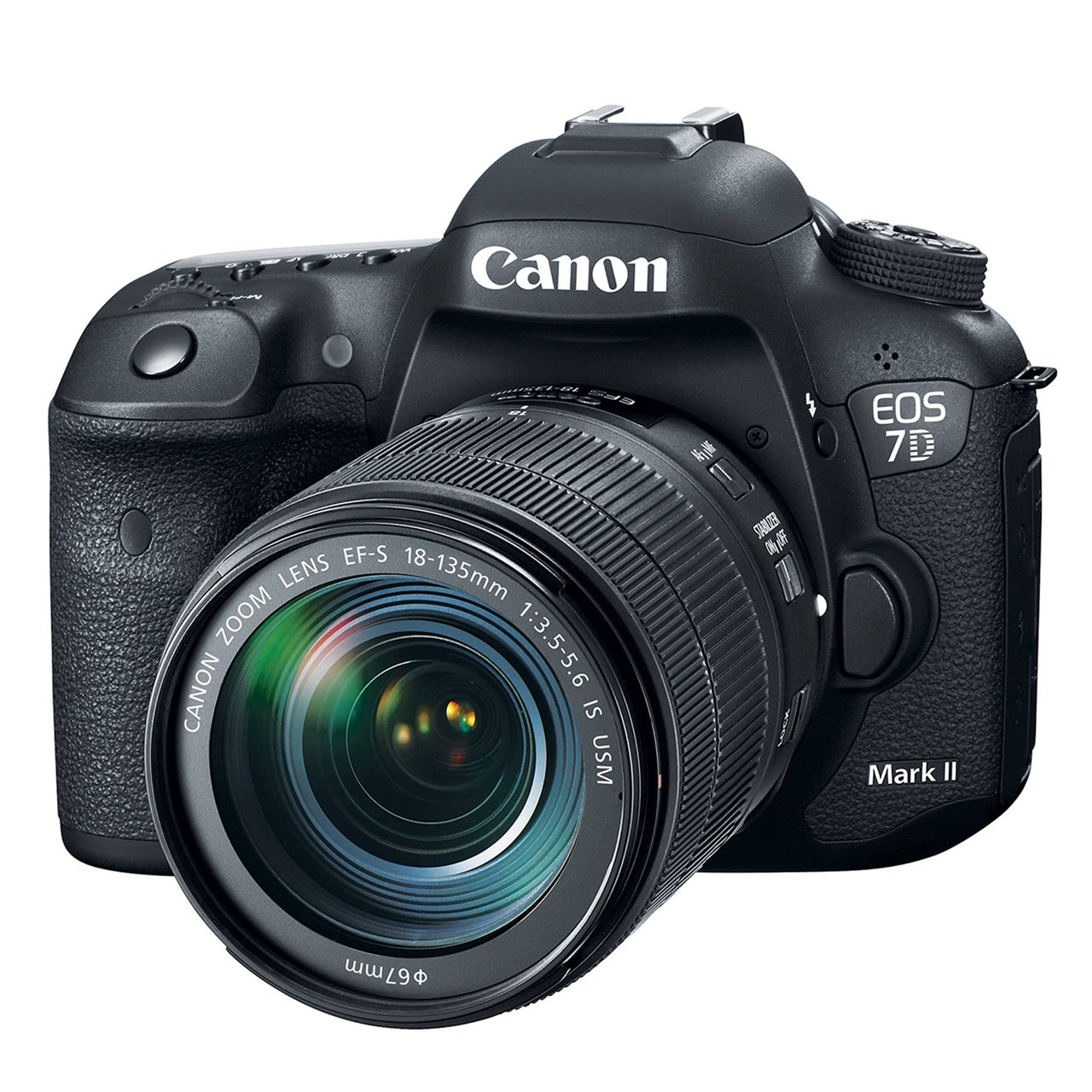 فروش نقدی و اقساطی دوربین دیجیتال کانن مدل EOS 7D Mark II به همراه لنز 18-135 میلی متر IS USM