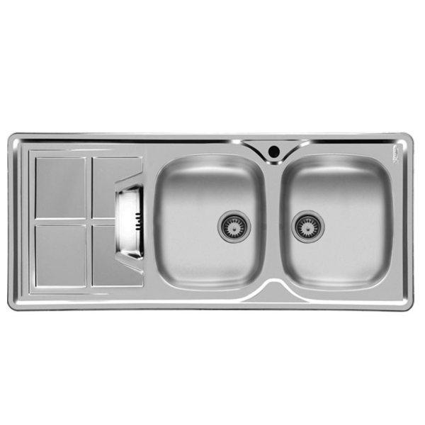 فروش نقدی و اقساطی سینک ظرفشویی اخوان مدل 161SP توکار