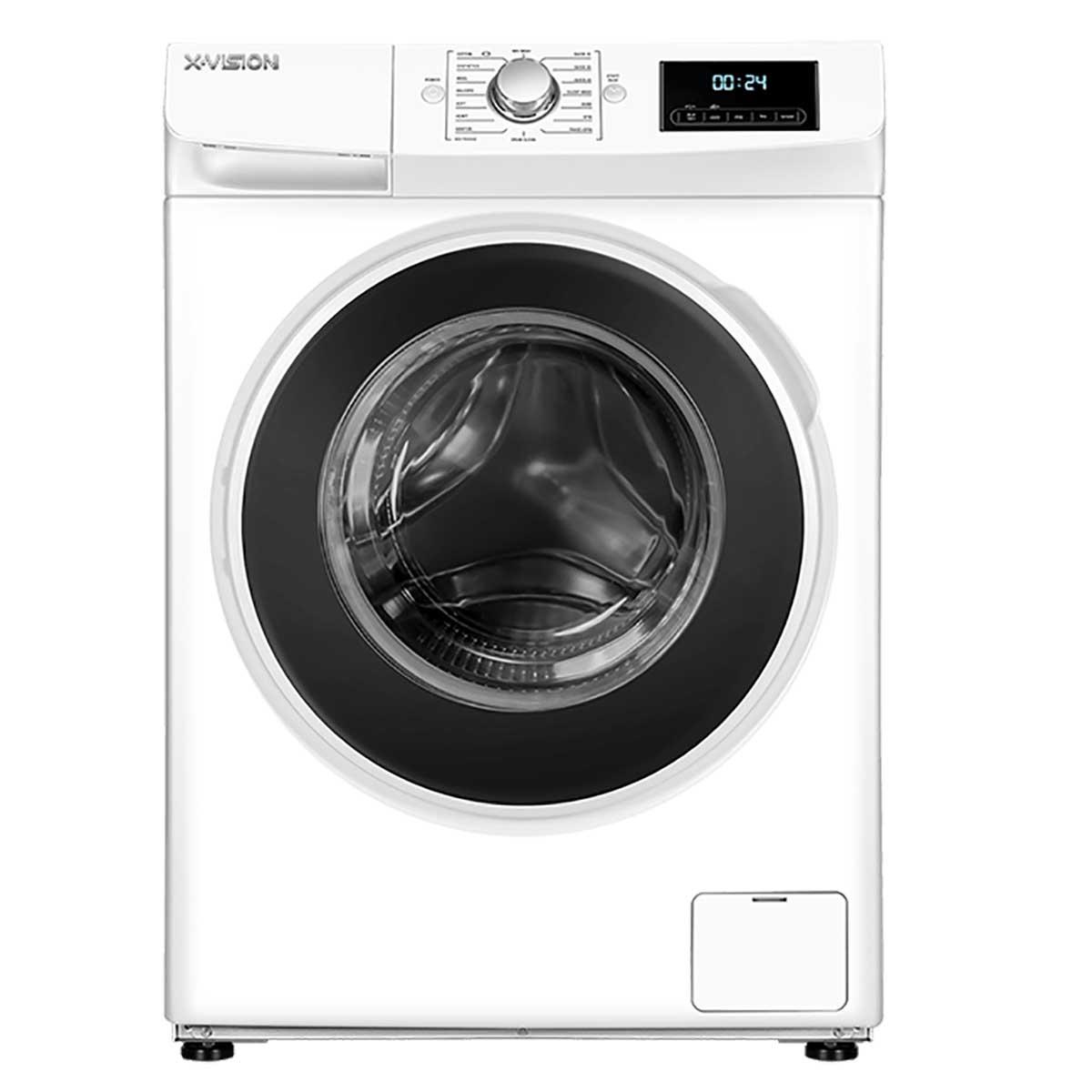 فروش نقدی و اقساطی ماشین لباسشویی ایکس ویژن مدل WA80-AW/AS ظرفیت 8 کیلوگرم