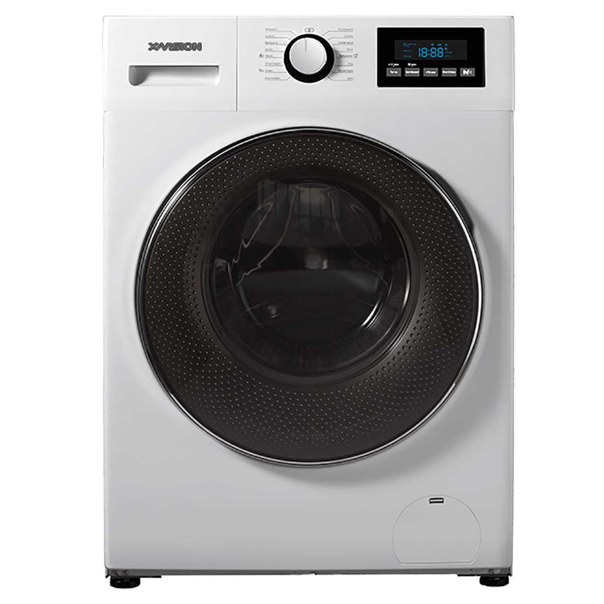 فروش نقدی و اقساطی ماشین لباسشویی ایکس ویژن مدل WH82-ASI/AWI ظرفیت 8 کیلوگرم