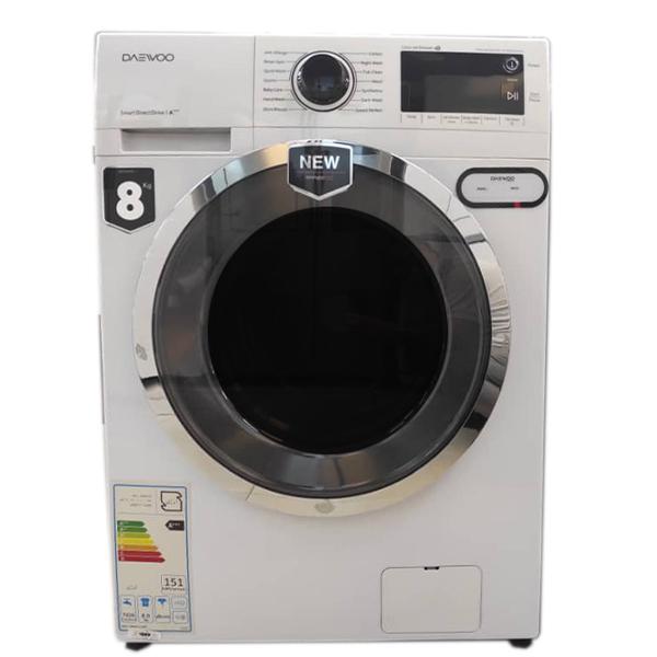 فروش نقدی و اقساطی ماشین لباسشویی دوو مدل DWK-PRO841TT ظرفیت 8 کیلوگرم