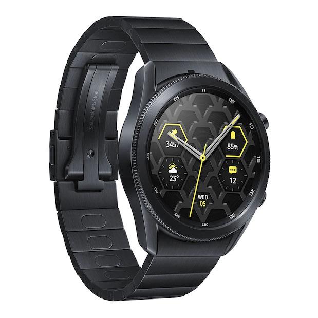 فروش نقدی و اقساطی ساعت هوشمند سامسونگ مدل Galaxy Watch3 Titanium 45mm