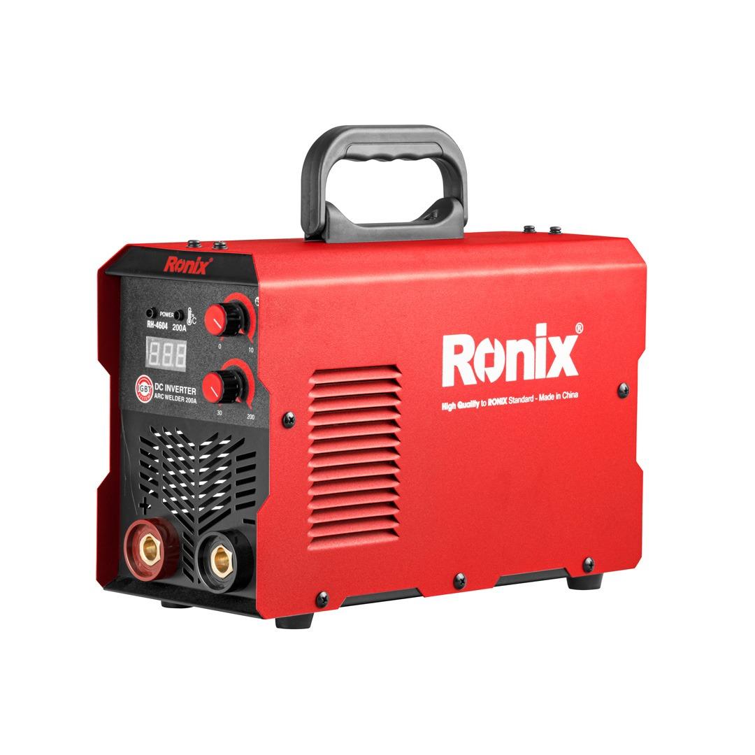 فروش نقدی و اقساطی دستگاه جوش 200 آمپر رونیکس مدل RH-4604