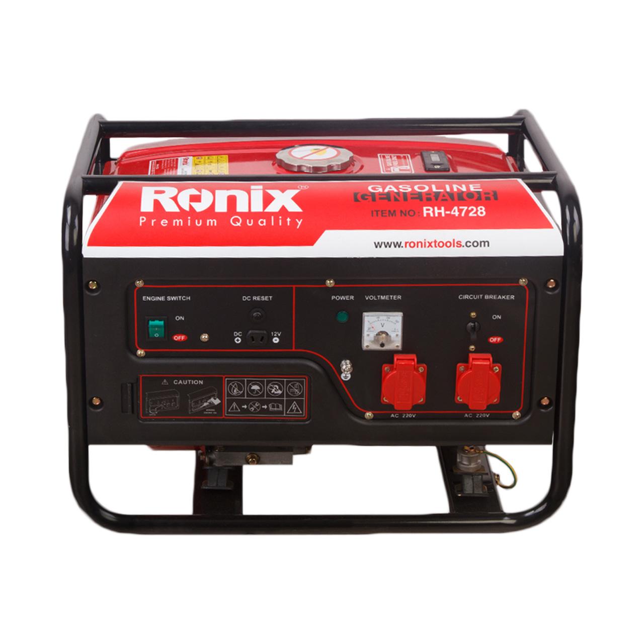 فروش نقدی و اقساطی موتور برق رونیکس مدل 4728