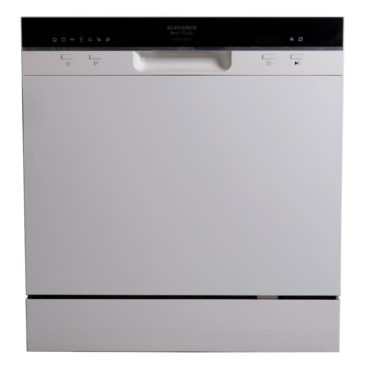 فروش نقدی و اقساطی ماشین ظرفشویی الگانس مدل WQP8-3802B مناسب برای 8 نفر