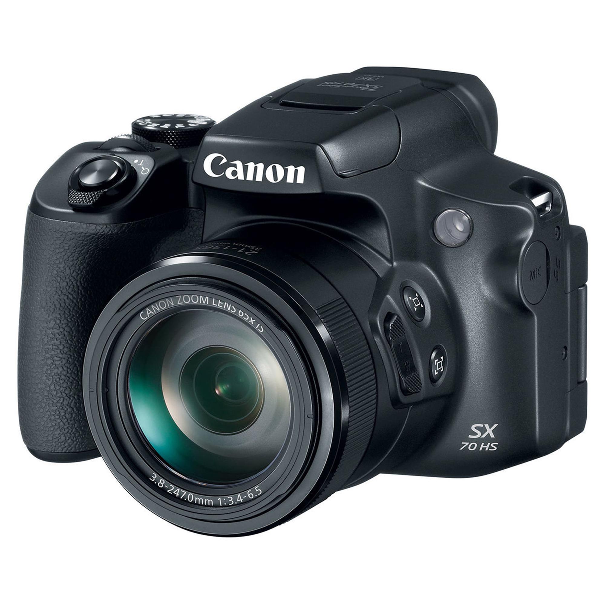 فروش نقدی و اقساطی دوربین دیجیتال کانن مدل Powershot SX70 HS