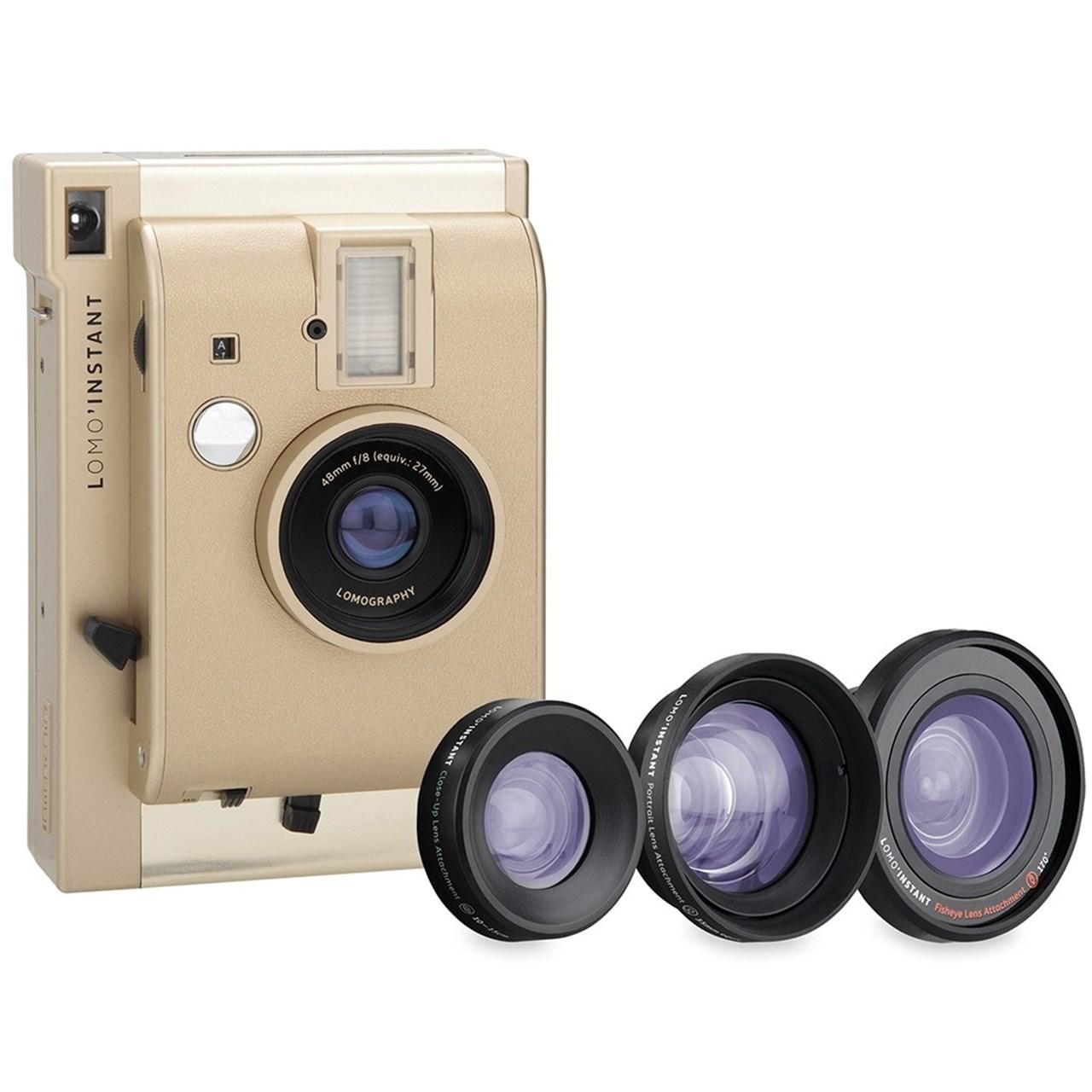 فروش نقدی و اقساطی دوربین چاپ سریع لوموگرافی مدل Yangon به همراه لنز