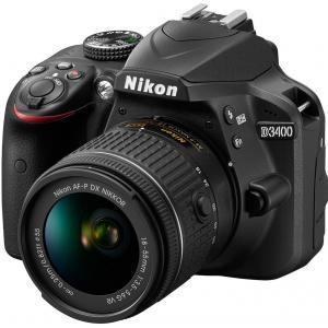 فروش اقساطی دوربين ديجيتال نيکون مدل D3400 به همراه لنز 18-55 ميلي متر VR